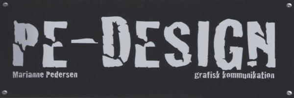 Specialist i logo, visitkort, plakater, bøger, virksomhedsprofiler, presse - PE-DESIGN