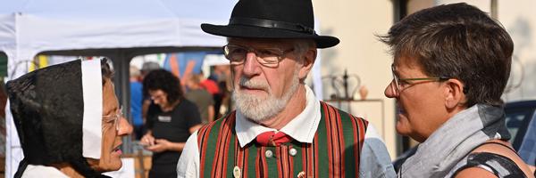 Ramsø folkedansere, Høstfest i Viby 2019 Foto: Marius Paul Neacsu